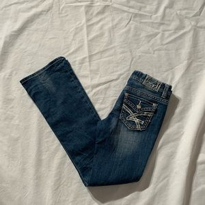 Amethyst Size 5 Jeans Inseam 32""